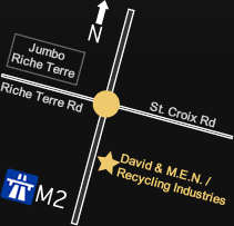 Directions to David & M.E.N. Co. Ltd